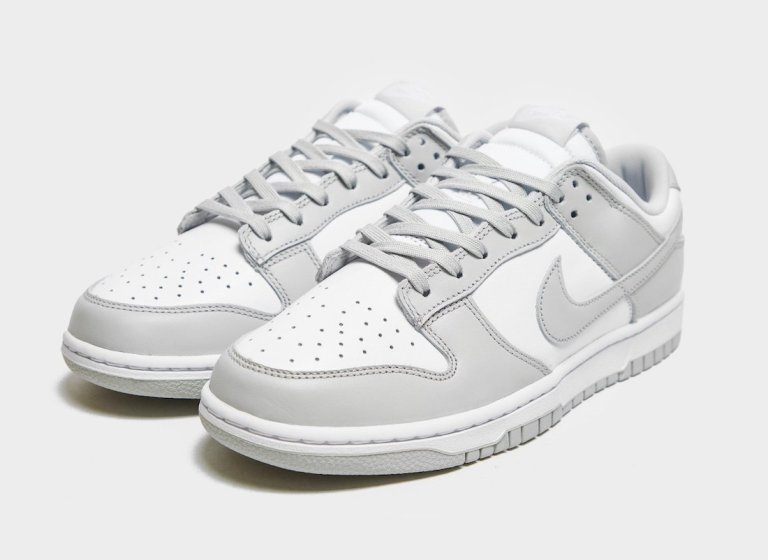 """2021年発売【Nike Dunk Low """"Grey Fog""""】ホワイトとグレーがミニマルで大人っぽい最新作"""