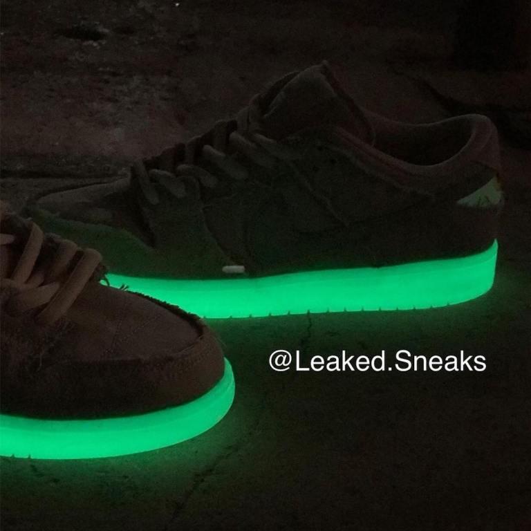 """ナイキ SB ダンク ロー """"ミイラ"""" Nike-SB-Dunk-Low-Mummy-DM0774-111-glowing"""