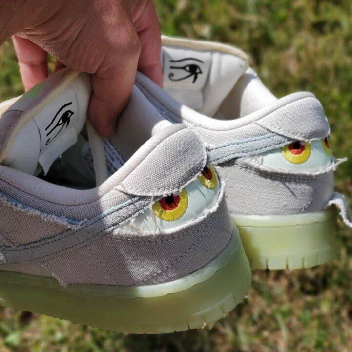 """ナイキ SB ダンク ロー """"ミイラ"""" Nike-SB-Dunk-Low-Mummy-DM0774-111-heel"""