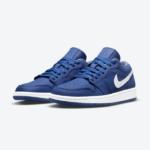 """ナイキ ウィメンズ エア ジョーダン 1 ロー """"ディープ ロイヤル"""" Nike-WMNS-Air-Jordan-1-Low-Deep-Royal-DA8008-401-pair"""