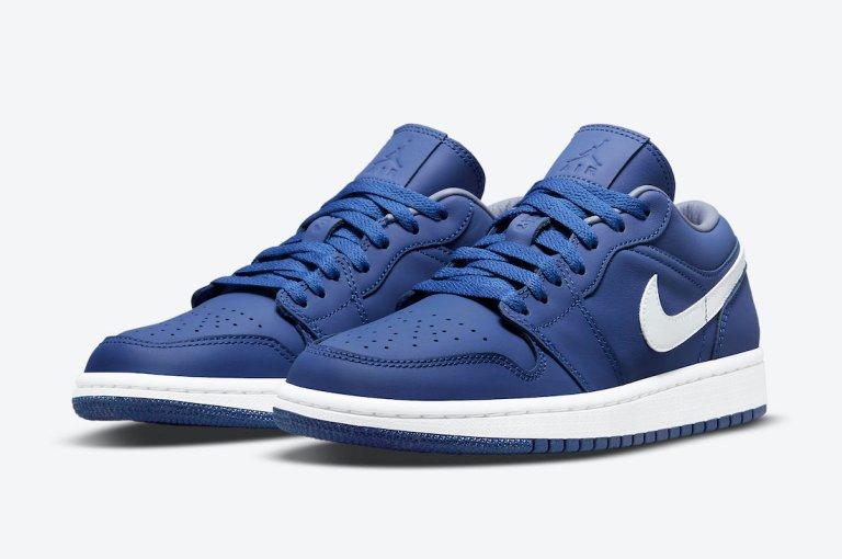 "8月20日発売【Nike WMNS Air Jordan 1 Low ""Deep Royal""】"