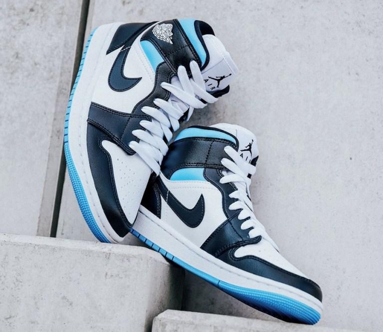 ナイキ エア ジョーダン 1 ウィメンズ ユニバーシティ ブルー Nike WMNS Air Jordan 1 University Blue BQ6472-102
