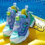 adidas ZX FURY LIGTH PURPLE/BAHIA MINT/SHOCK YELLOW gw0366 detail