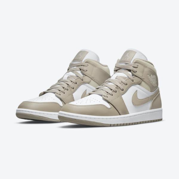 """2021年発売【Nike Air Jordan 1 Mid """"Linen""""】"""
