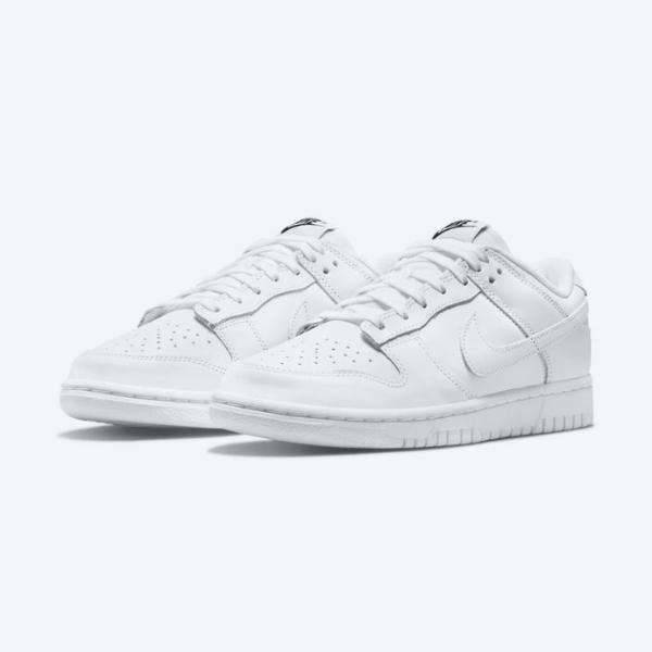 """ナイキ ダンク ロー """"トリプルホワイト"""" nike-dunk-low-triple-white-DD1503-109-pair"""