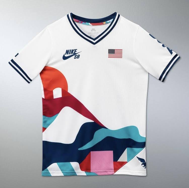 ナイキ SB パラ オリンピック エクスクルーシブ Tシャツ nike-sb-parra-olympic-exclusive-tee-2021-usa-2