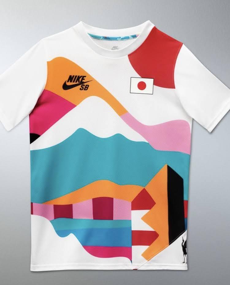 ナイキ SB パラ オリンピック エクスクルーシブ Tシャツ nike-sb-parra-olympic-exclusive-tee-2021-japan-2