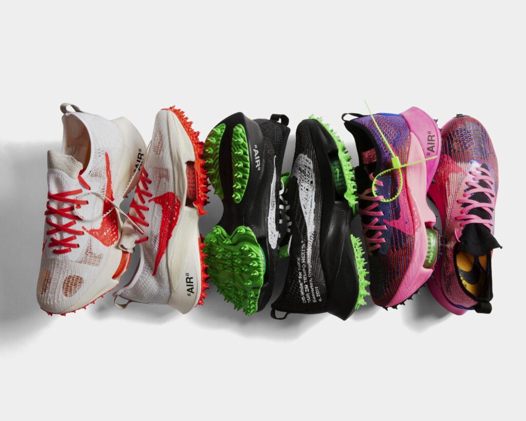 7月23日発売【Off-White x  Nike Air Zoom Tempo Next% FK 3 Colors】