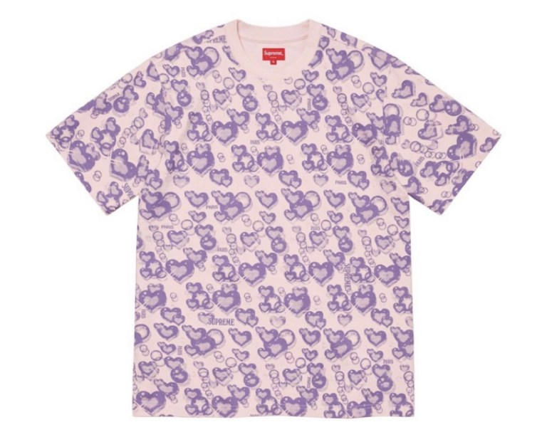 supreme 2021ss シュプリーム 2021春夏 week 19 Butthole Surfers バットホール・サーファーズ Hearts S/S Top