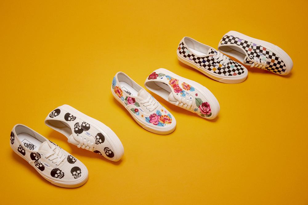 """発売中【Vans Authentic """"Anaheim Factory Needlework Collection""""】刺繍の魅力を靴に!"""