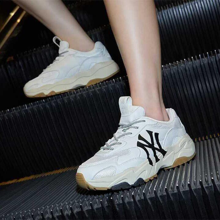 MLB Korea 韓国 スニーカー ブランド 人気 Sneakers White image