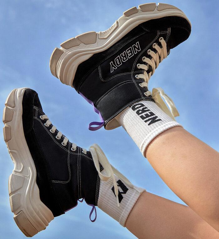 ノルディ 韓国 ファッション ブランド スニーカー NERDY Korean Fashion Brand Sneakers