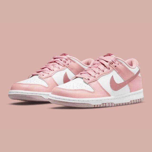 Nike-Dunk-Low-GS-Pink-Velvet-DO6485-600 main pair