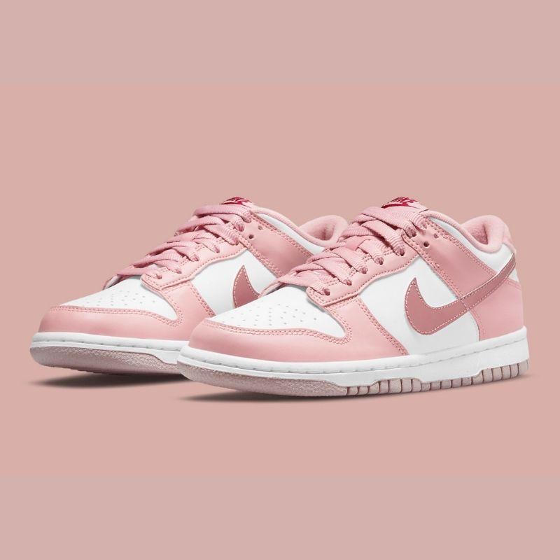 """2021年発売【Nike Dunk Low GS """"Pink Velvet""""】"""