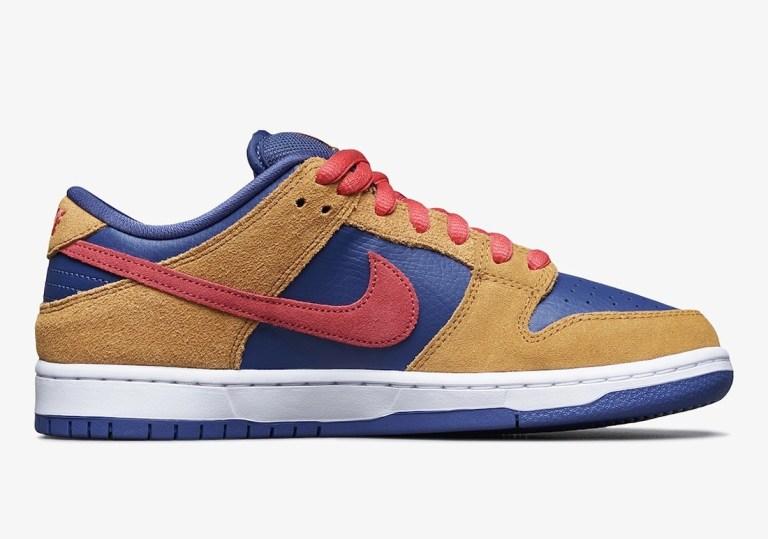 """ナイキ SB ダンク ロー プロ """"ウィート アンド パープル"""" Nike-SB-Dunk-Low-Wheat-and-Purple-BQ6817-700-side-2"""
