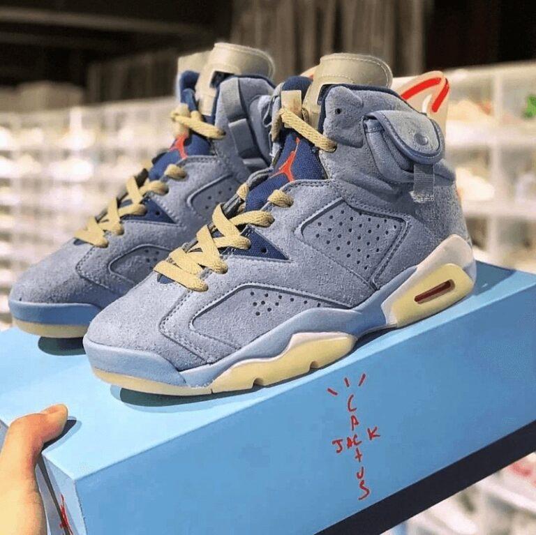 Travis Scott x Nike Air Jordan 6 University Blue