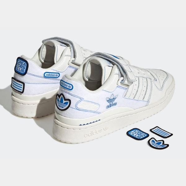 adidas-forum-low-velcro-cloud-white-off-white-blue-bird-GX1018 アディダス オリジナルス ロー main
