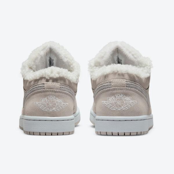 """エア ジョーダン 1 ロー """"シェルパフリース"""" air-jordan-1-low-sherpa-fleece-do0750-002-heel"""