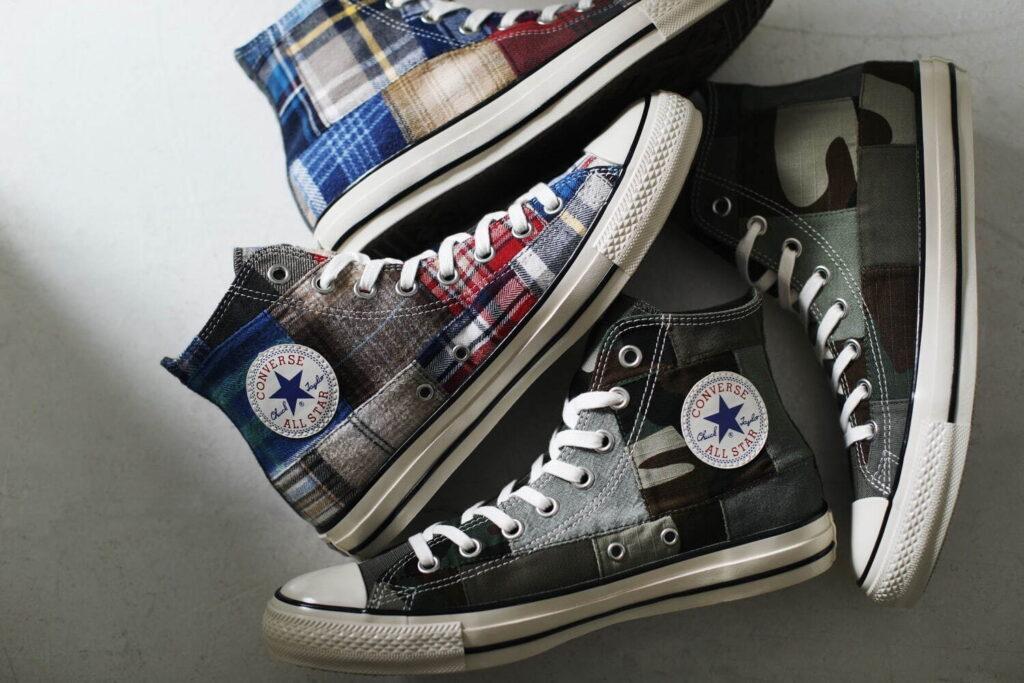9月18日発売【Converse All Star US FURUGI PATCHWORK Hi】