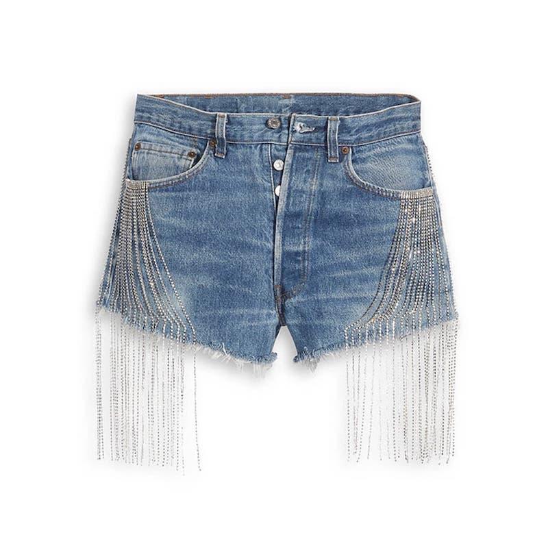 大阪 なおみ × Levis コレクション naomi_osaka_levis_collection-short-pants-front