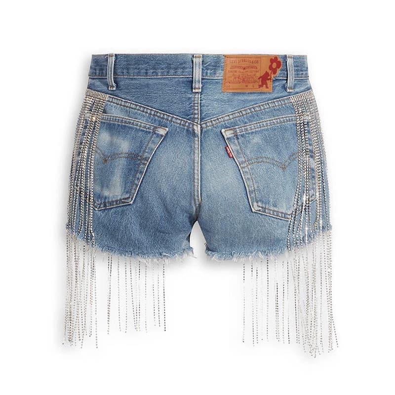 大阪 なおみ × Levis コレクション naomi_osaka_levis_collection-short-pants-back