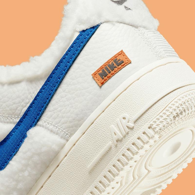 """Nike Air Force 1 Low """"Sherpa Fleece"""" DO6680-100 main"""