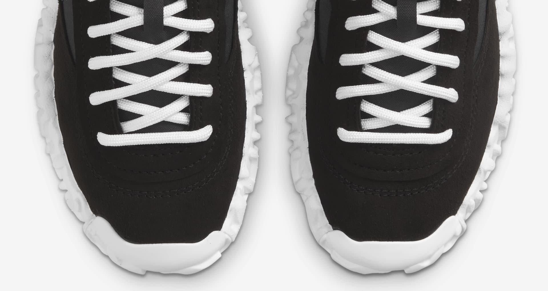 """ナイキ オーバーブレイク """"ブラック アンド ホワイト"""" nike-overbreak-2-colors-black-and-white-dc3041-002-toe"""