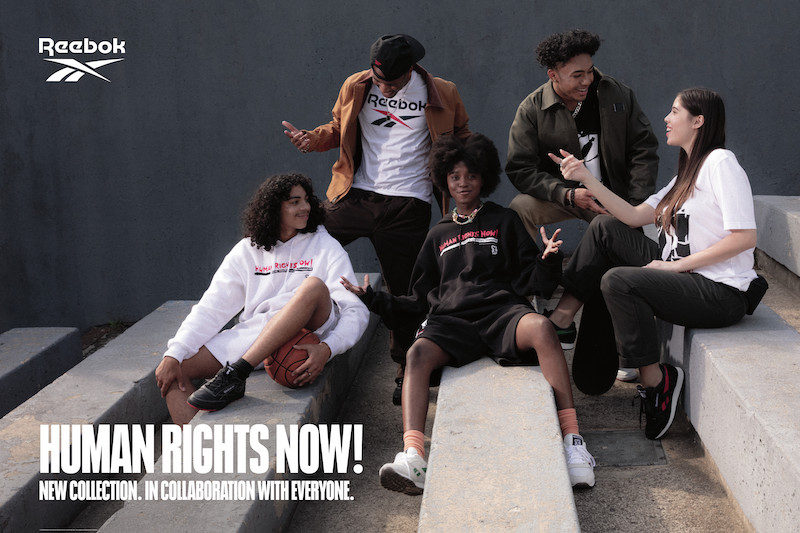 8月21日発売【Reebok Human Rights Now! Collection】