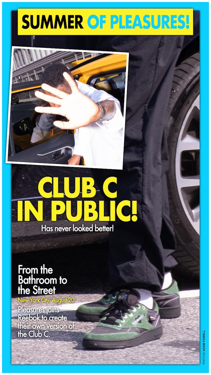 リーボック プレジャーズ クラブ シー 85 reebok-pleasures-club-c-legacy-club-c-85-gw2644-look-2