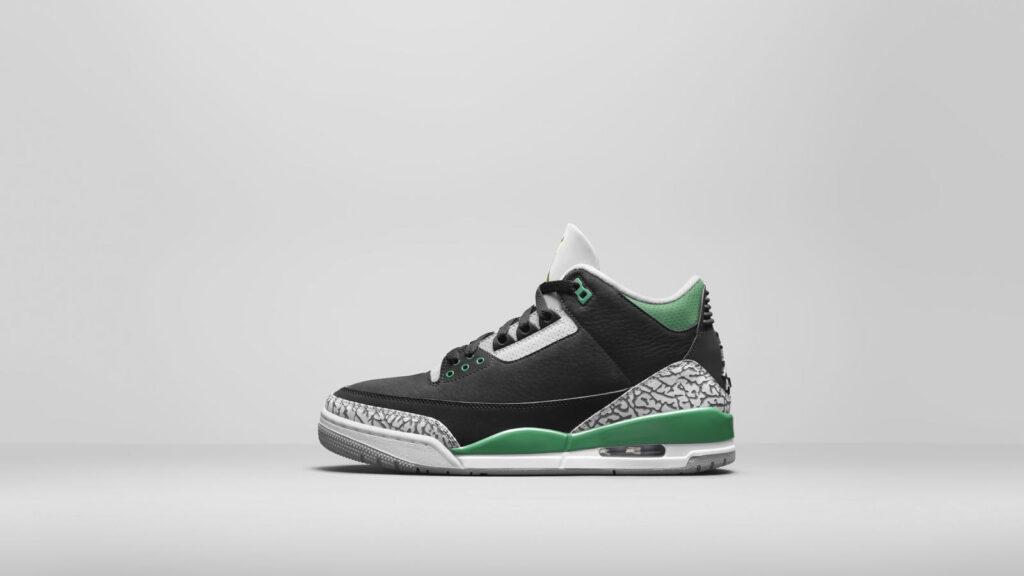 """Air Jordan 3 """"Pine Green"""""""