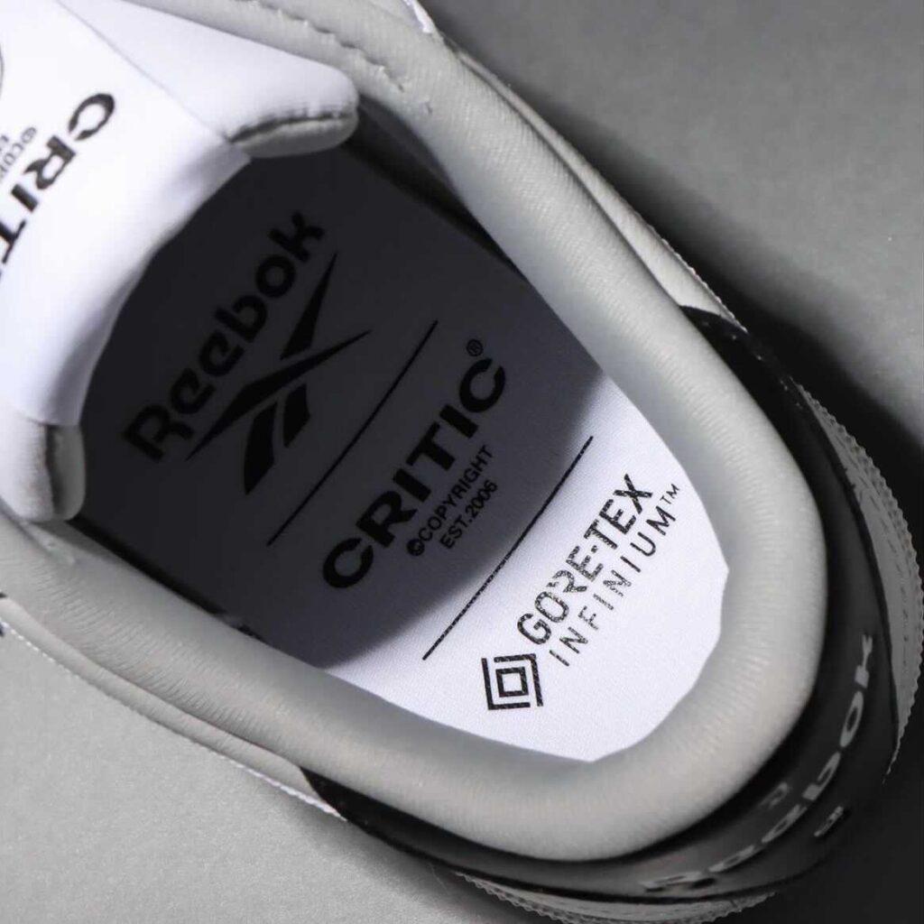 CRITIC × Reebok Classic Club C 85 GTX White クリティック × リーボック クラシック クラブ C 85 GTX ホワイト GX8537 detail