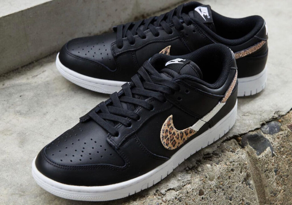 "9月18日,25日,29日発売【Nike WMNS Dunk Low SE ""Leopard""】"