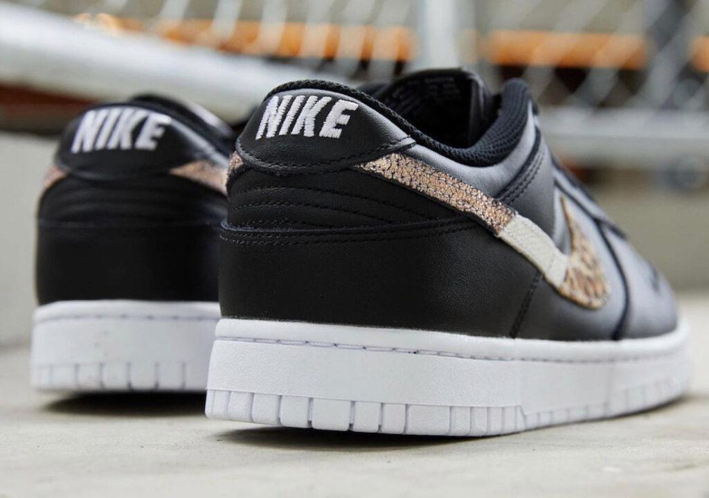 Nike-Dunk-Low-Leopard-DD7099-001 detail heel