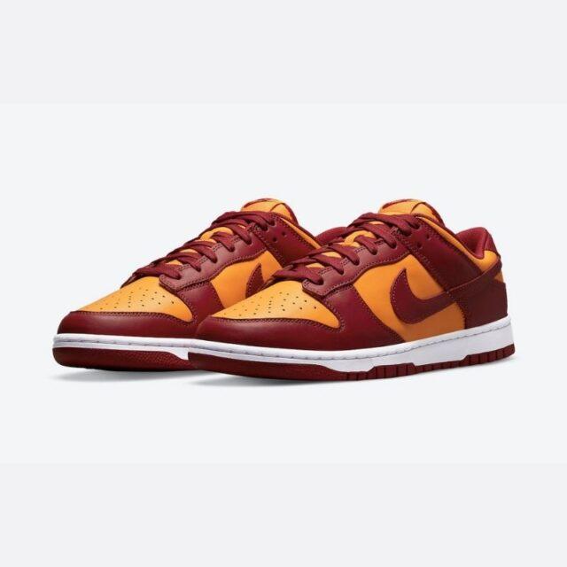 "Nike-Dunk-Low-Midas-Gold-Tough-Red-DD1391-701 ダンク ロー レトロ ""ミダスゴールド"" main"