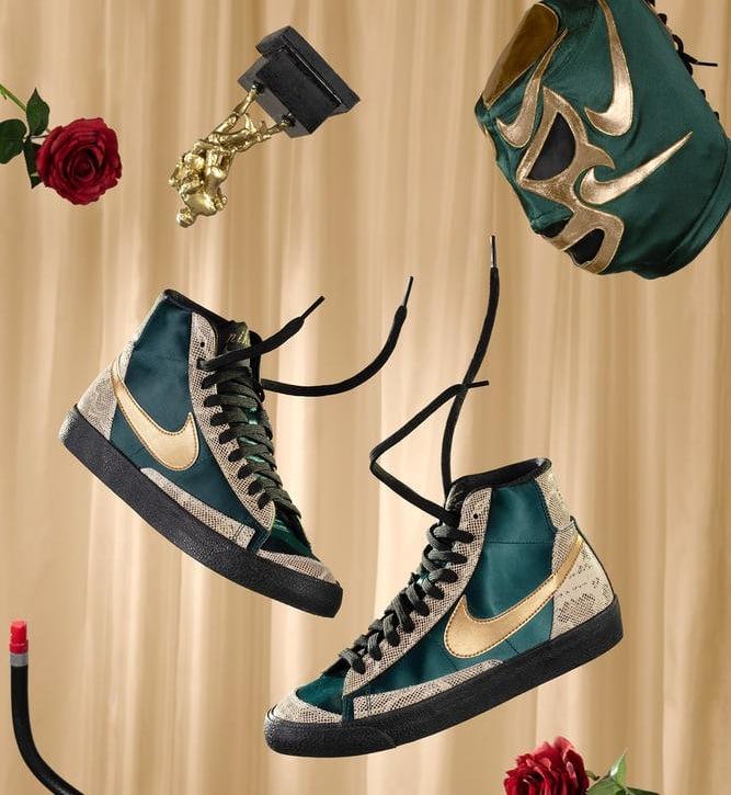 """9月17日発売【Nike WMNS Blazer Mid """"Lucha Libre""""】"""