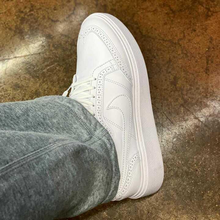 ピースマイナスワン ナイキ コラボ クォンド 1 PEACEMINUSONE x Nike KWONDO 1 wearing image