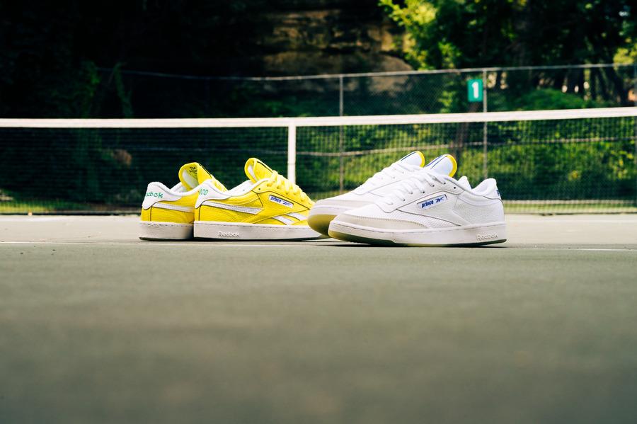 プリンス リーボック コラボ クラブ C リベンジ Prince-Reebok-Club-C-White-Yellow-collaboration