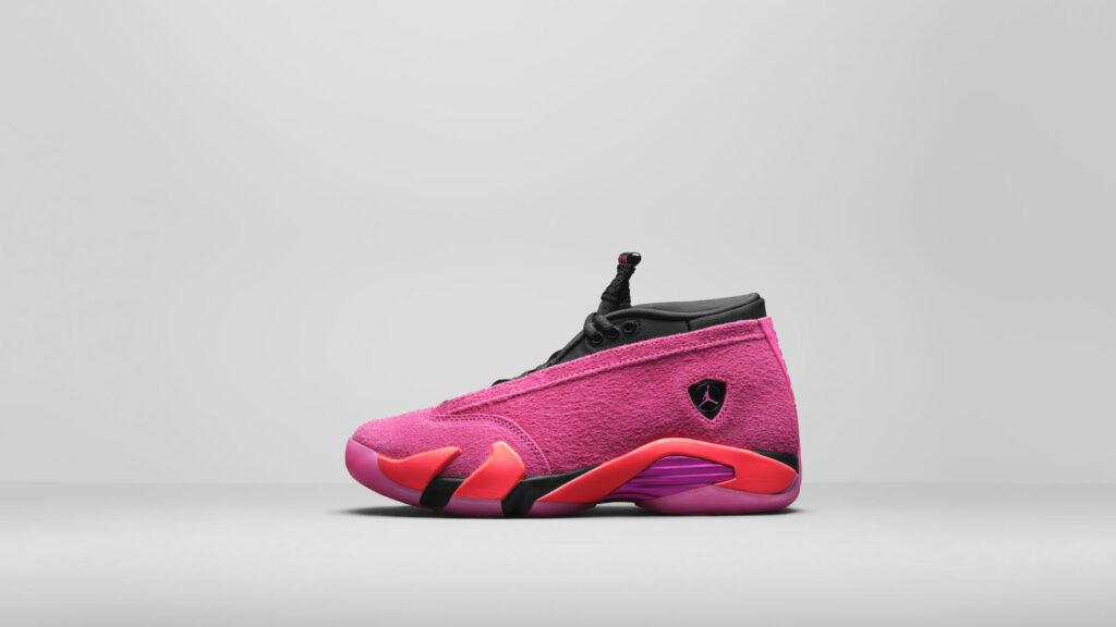 """Air Jordan 14 Low """"Shocking Pink"""""""
