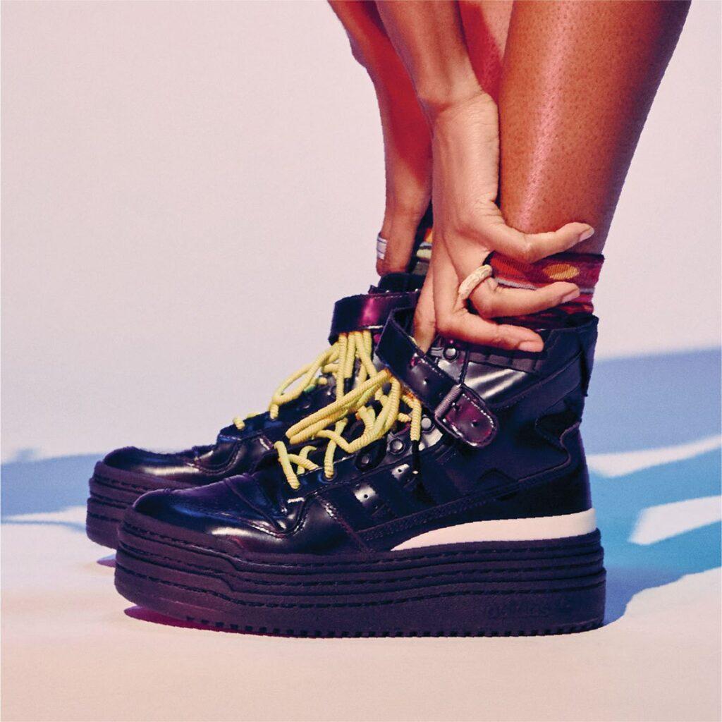 アフロパンク × アディダス トリプル プラットフォーラム afropunk-adidas-triple-platforum-look-3