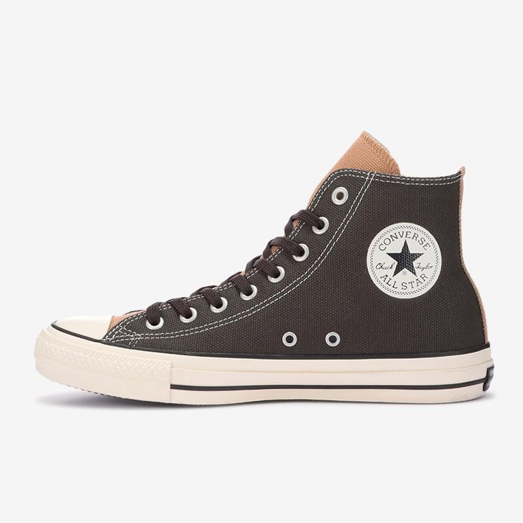 コンバース オールスター 100 ワーククロス CC ハイ converse-all-star-100-workcloth-cc-hi-31305280-with-black-shoelace