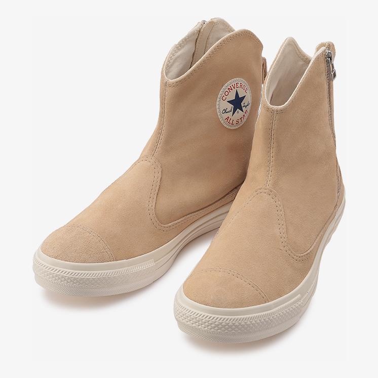 コンバース スエード オールスター ウェスタンブーツ Z ハイ (ベージュ) converse-suede-all-star-westernboots-z-hi-beige-31304790-pair