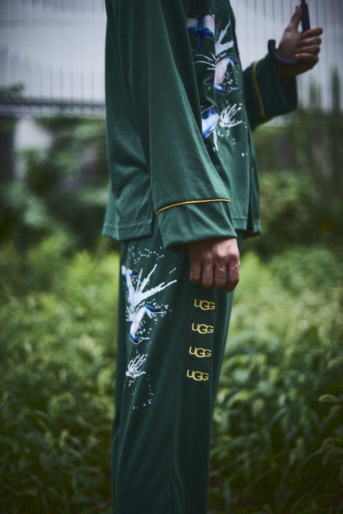 伊東楓 x UGG@mos ROOM WEAR kaede-ito-ugg-atmos-room-wear-collaboration-look-8