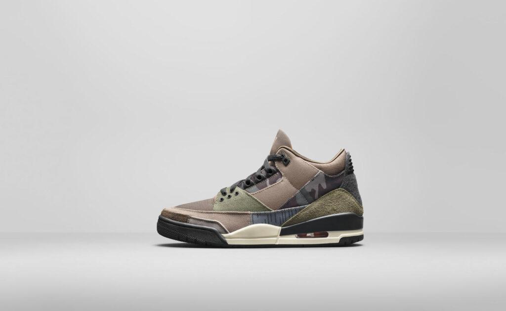"""11月29日海外発売【Nike Air Jordan 3 """"Camo""""】3つのカモフラ柄を組み合わせたハードで男前なスニーカー"""