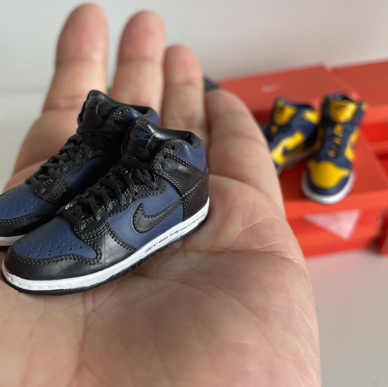【購入リンク付】9月5日発売☆Nike Dunkの名作がガシャポンに!? Nike Dunk High Miniature Collection