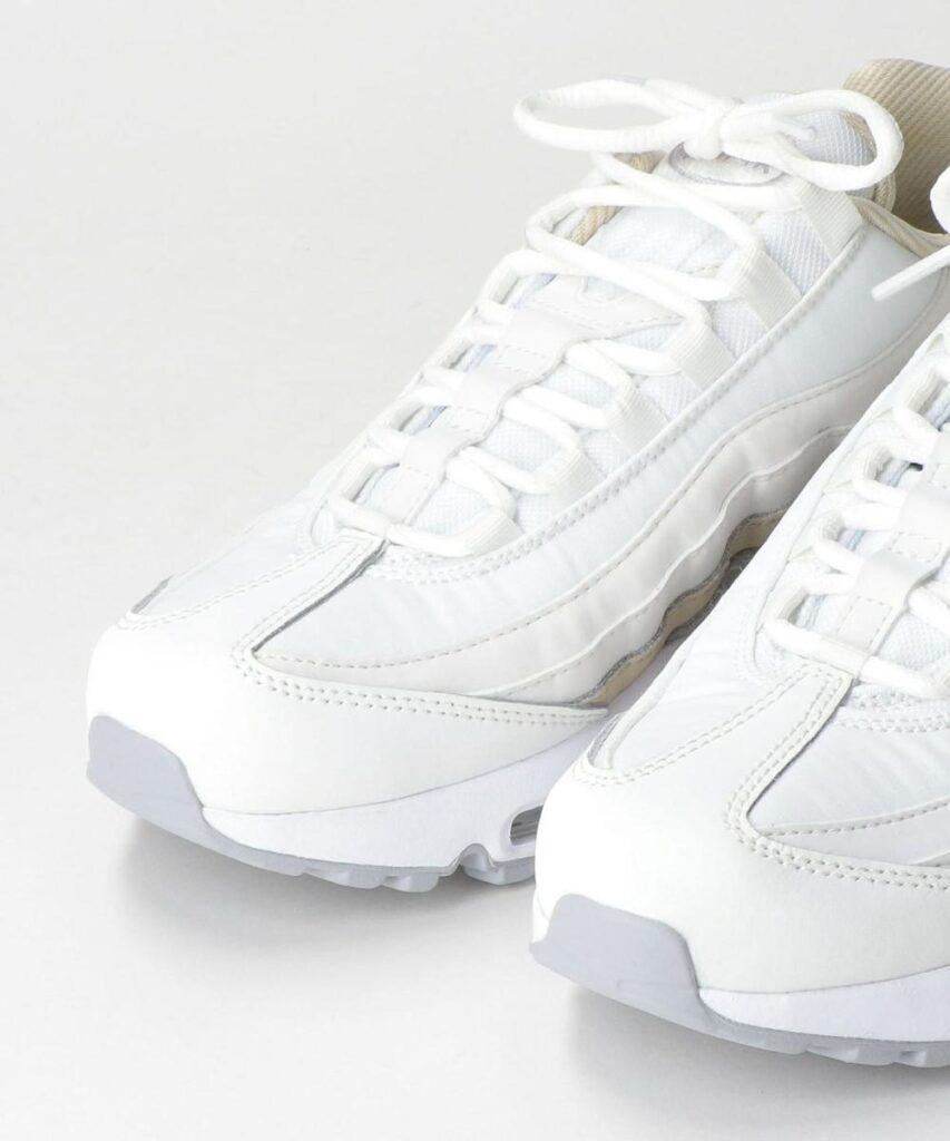Nike WMNS Air Max 95 ホワイト/ウルフグレー nike-wmns-air-max-95-DA8731-100-look-1