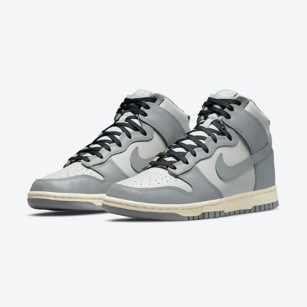 "9月7日発売【Nike WMNS Dunk High ""Grey""】"