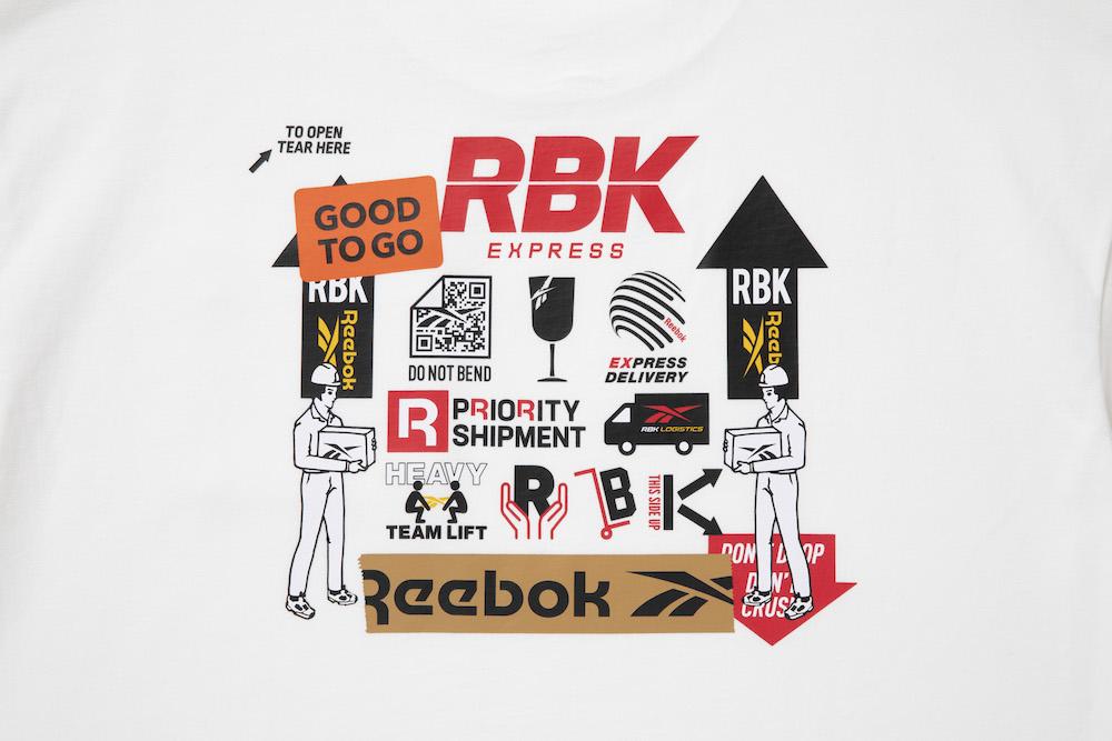 リーボック ブラックアイパッチ Tシャツ ホワイト reebok-designed-by-blackeyepatch-cl-bep-u-ss-tee-design