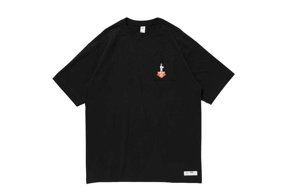 リーボック ブラックアイパッチ Tシャツ ブラック reebok-designed-by-blackeyepatch-cl-bep-u-ss-tee-front