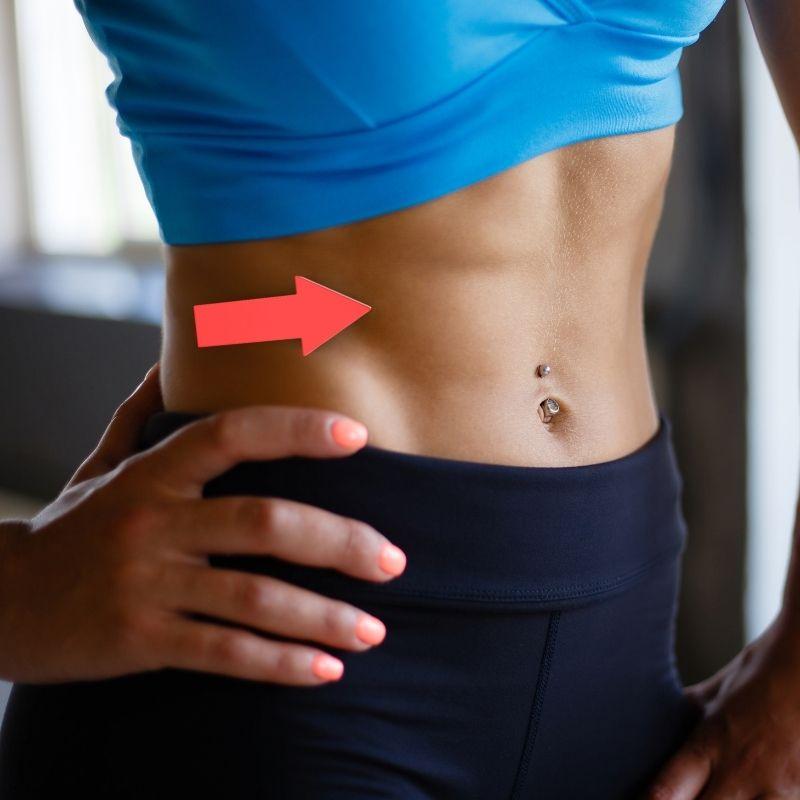 クランチで腹筋を鍛えることで得る効果について