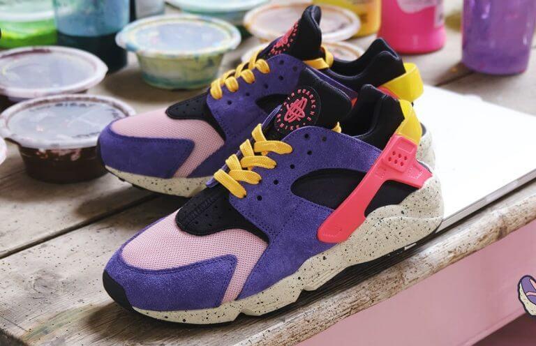 """size x Nike Air Huarache エアハラチ """"テラ ACG"""" detail pair"""